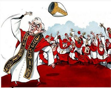 PopeCartoon