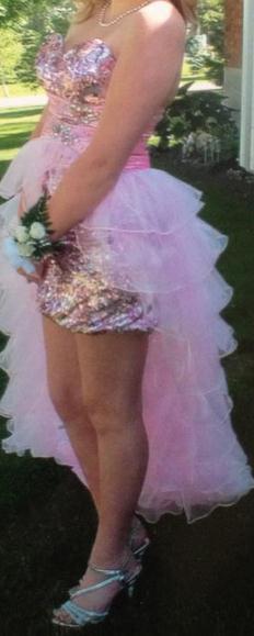 Vegas Show Girl…..Or Grade 6 Graduation Dress?