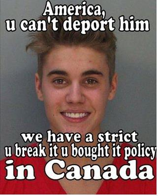 BieberDeport
