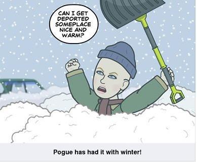 F*ck This! Where&#39;s <b>Spring</b>? | Pogue Mahone Blog.