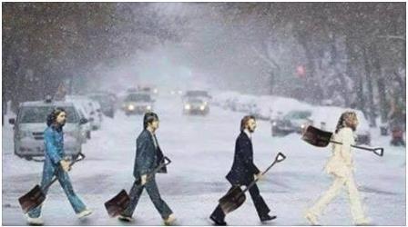 BeatlesSnow