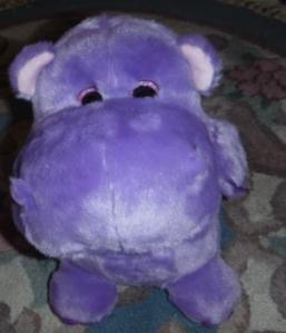 PurplePlushHippo