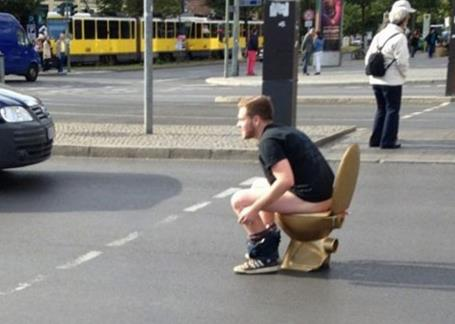ToiletRoad