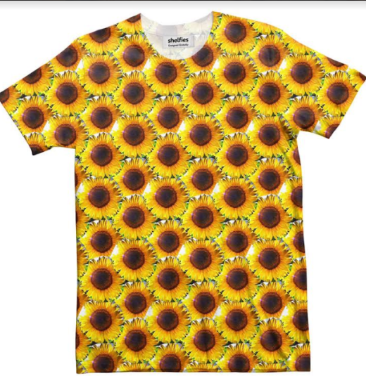 SunflowerShirtShelfies